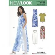 6566 New Look Pattern: Trousers, Tunic, T-Shirt